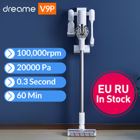 Dreame V9P Handheld Wireless Vacuum Cleaner Portable Cordless Cyclone Filter Carpet Dust Collector Carpet Sweep Home for xiaomi