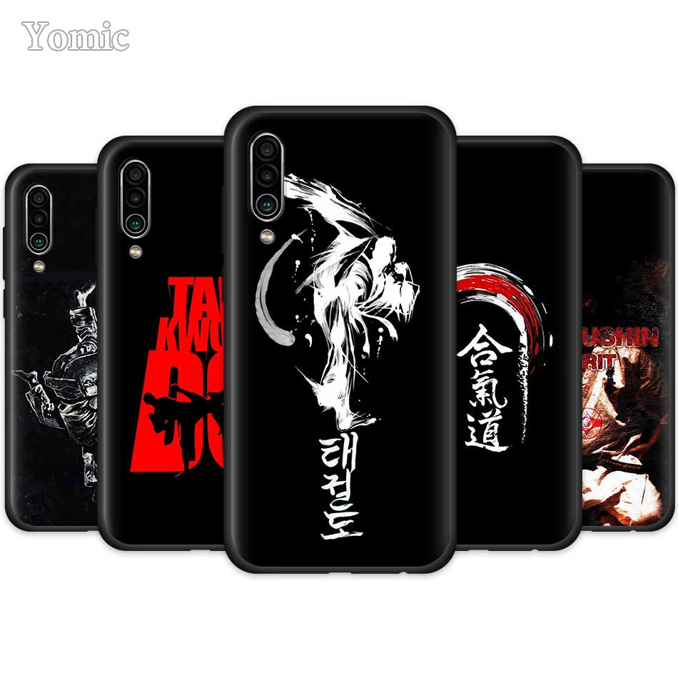 Oyama Kyokushin Karate <font><b>Case</b></font> for <font><b>Meizu</b></font> 16th 16X 16S 16Xs <font><b>M6T</b></font> Silicone Phone Cover 16 Snapdragon 710 845 Black Soft <font><b>TPU</b></font> Coque image