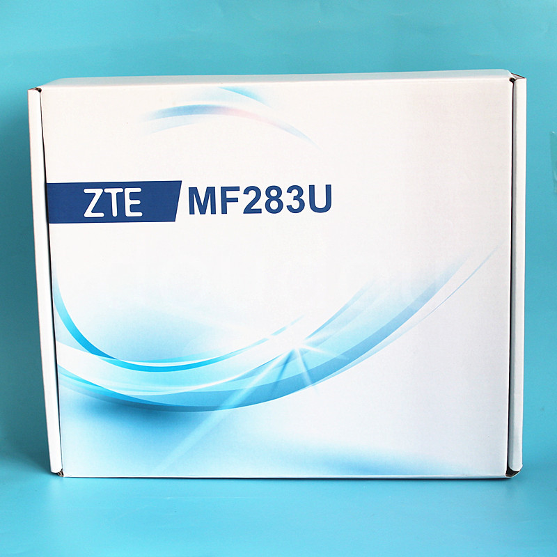 ZTE MF283 4g Lte Wireless Router Unlocked MF283U CPE Router With 4g Antenna  With Rj11 Port PK Huawei B593 E5186 B315 B310