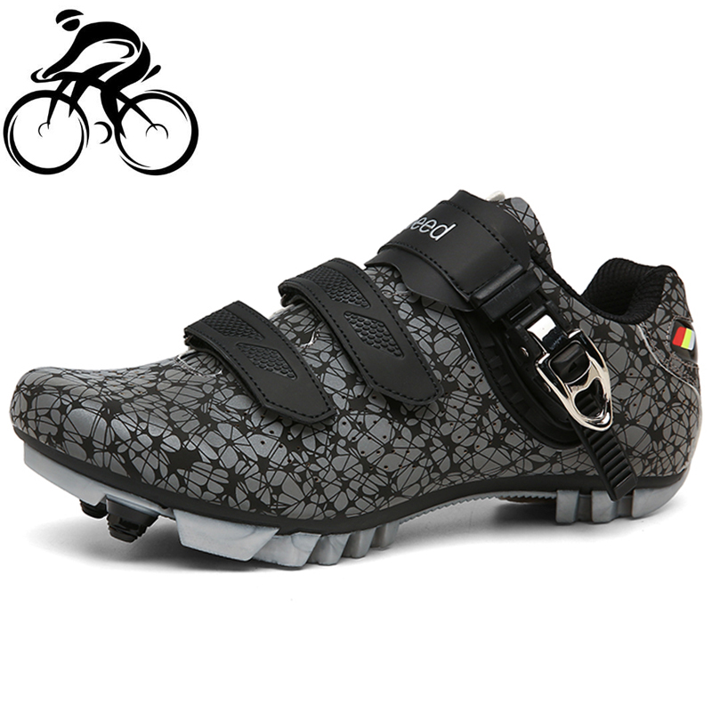 Self-locking Cycling Shoes Men sapatilha ciclismo MTB Outdoor Mountain Bicycle Shoes Professional Racing Bike Shoes zapatillas