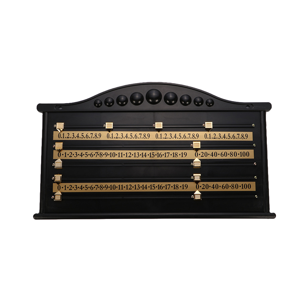 1 Pc Snooker Scoreboard Billiard Score Recorder Billiard Accessories For Club Game Supplies Liu