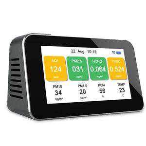 Multifunction LCD Digital Display Quick Sensing Air Quality Monitor Gas Pollutio U4LB