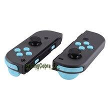 Tasti di direzione ABXY blu cielo estremo SR SL L R ZR ZL Trigger Set completo pulsanti di ricambio per Nintendo Switch JoyCon