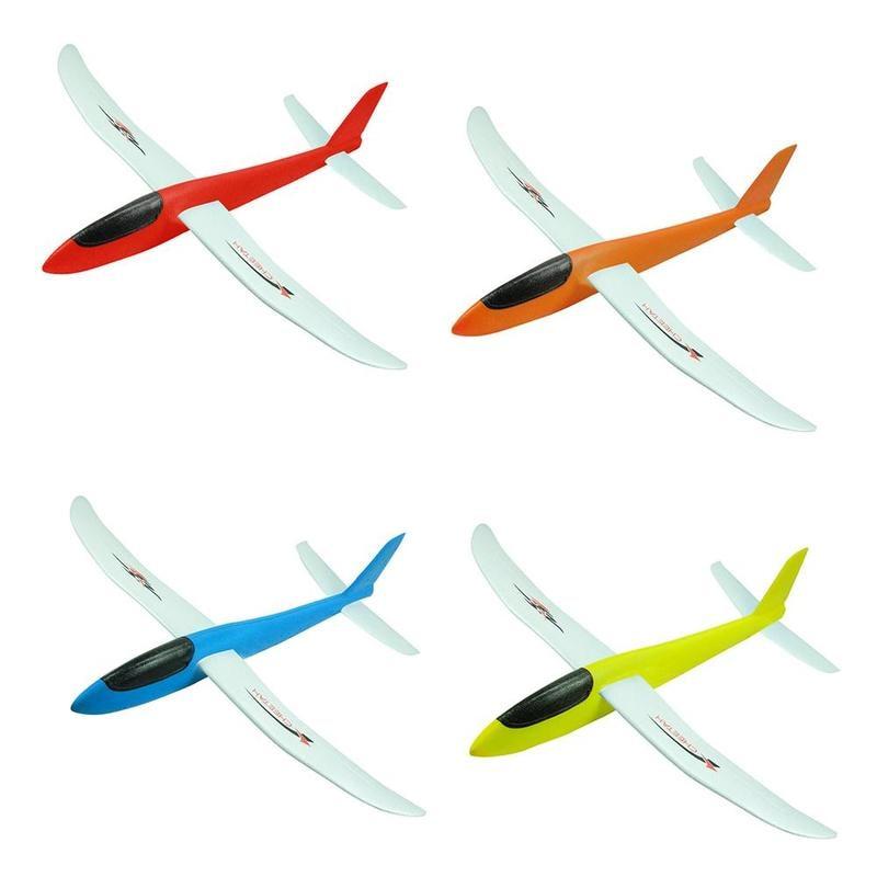 Avião de espuma epp flexível, artesanal, modelo
