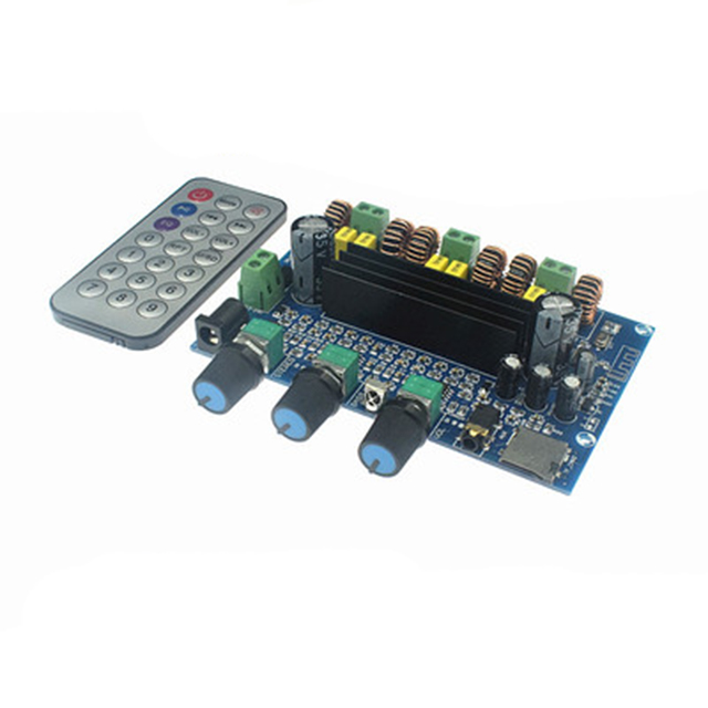 Placa amplificadora de potencia digital de alta potencia JY760 TPA3116D2, módulo amplificador de potencia Bluetooth 5,0, tarjeta TF auxiliar de 2,1 canales Módulo SFP RJ45 interruptor gbic 10/100/1000 conector SFP cobre módulo RJ45 SFP puerto Gigabit Ethernet