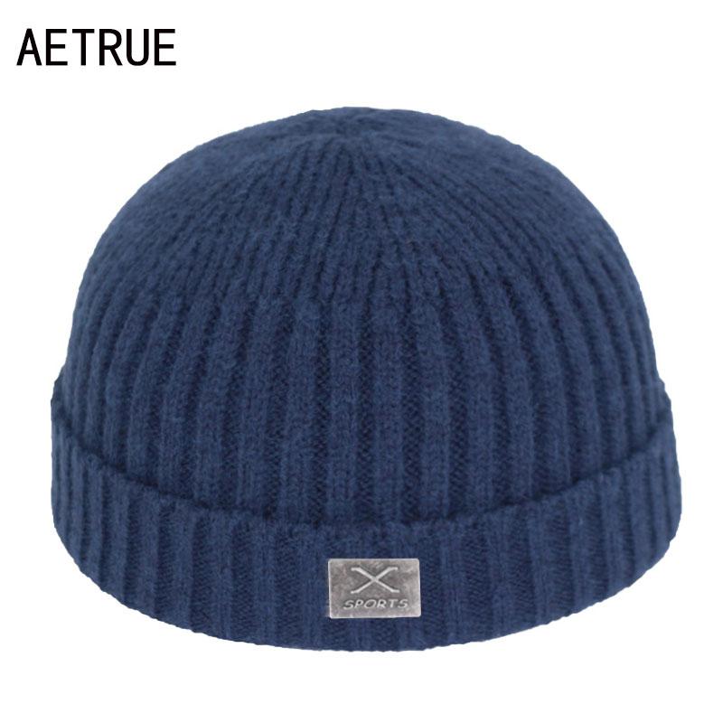 Short Skullcap Skullies Beanies Men Winter Beanie Hat Women Winter Hats For Men Caps Miki Bonnet X Skull Women Knitted Hat Cap
