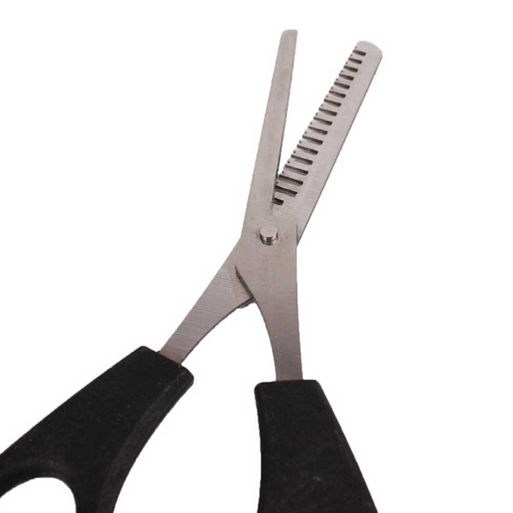 Fryzjer wycinanie usuwanie urządzenie do stylizacji włosów nożyczki nożyce fryzjerskie ze stali nierdzewnej regularne płaskie ostrza zębów
