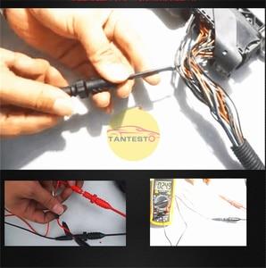 Image 5 - Conjunto de herramientas de reparación de circuito automotriz, conjunto de herramientas de detección de señal con luz de prueba de diodo, Cable de 1,5 m