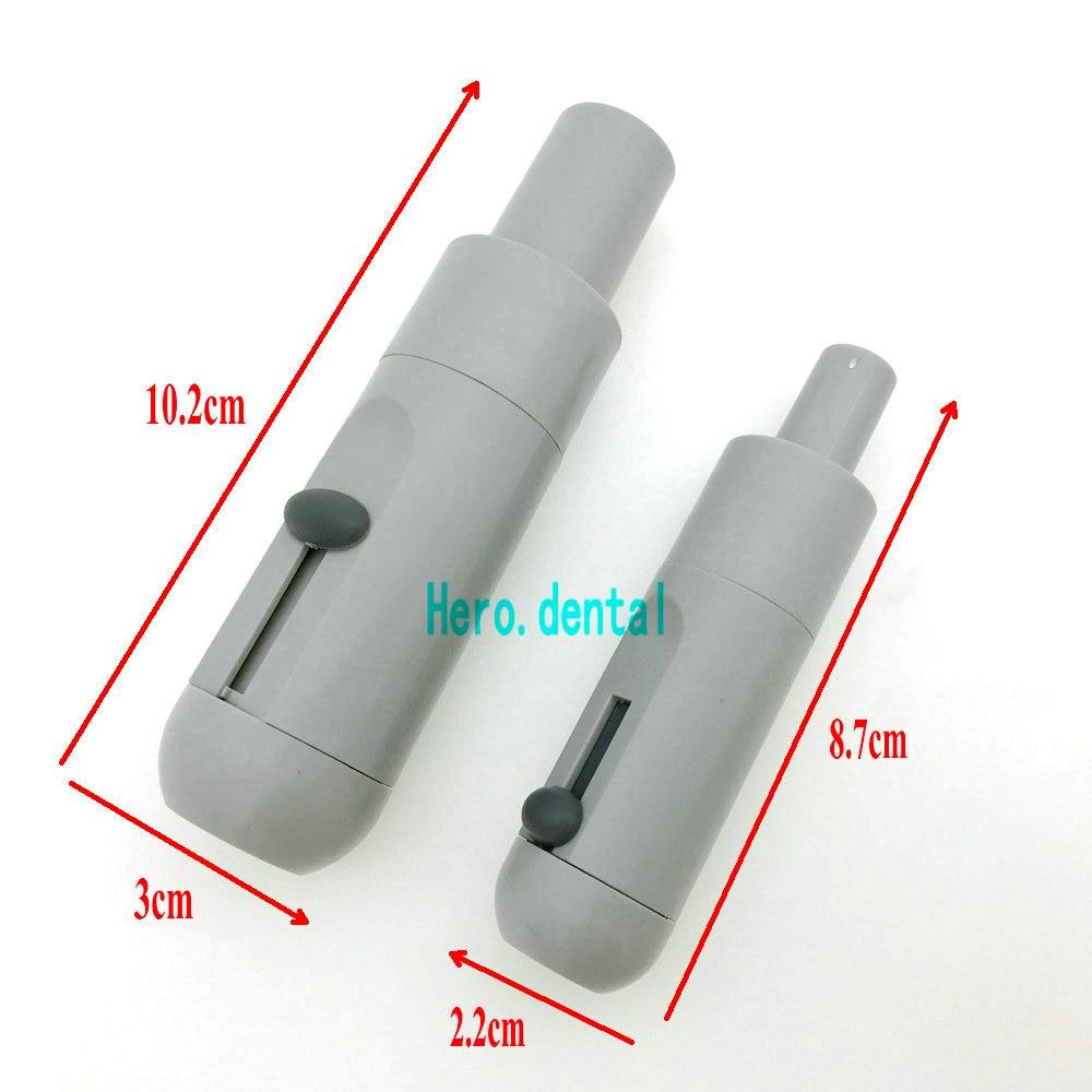 2pcs Dental Saliva Ejector Suction Valves SE HVE Tip Adapter Nozzle Strong Weak