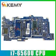 Для HP X360 M6 M6-AQ 15-AQ материнская плата портативного компьютера с SR2JB i7-6560U Процессор 15257-2N 448.07N07.002N 856280-601 100% тестирование Быстрая доставка