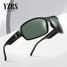 YZRS Brand Vintage Sunglasses Men Driver Polarized Shades Outdoors Goggles Retro Plastic Sun Glasses UV Protection Sport Eyewear