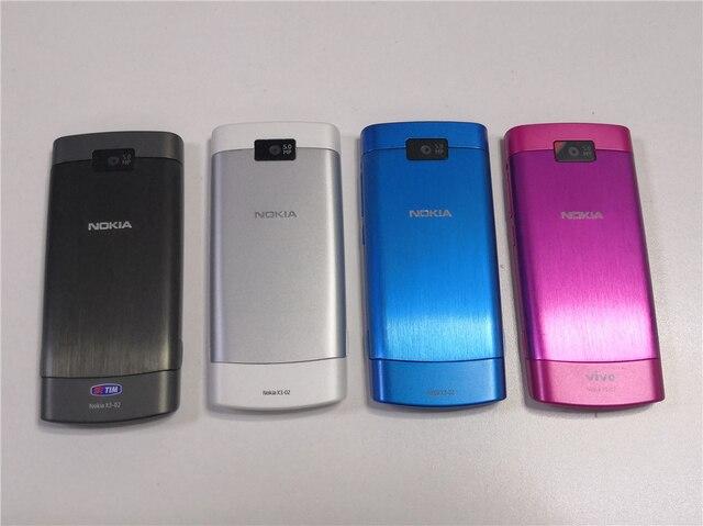 Best Selling In Polen Originele Nokia X3-02 3G Mobiele Telefoon 5.0MP Met Russische Keyboard Poolse Taal Een Jaar Garantie