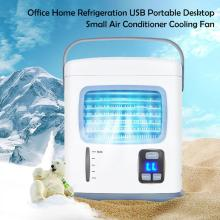 Air Conditioner Office Home Refrigeration USB Portable Desktop Small Air Conditioner Cooling Fan marsrock 7000w ac220v dc48v 24000btu inverter air conditioner cooling heating hybrid for home on grid solar air conditioner