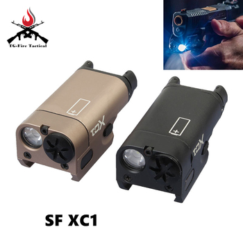 Elemento Airsoft SF XC1 pistola MINI pistola de luz LED arma táctica linterna de caza Airsoft