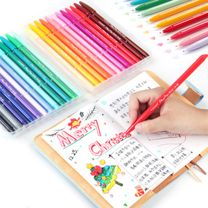 Monami Multi Color Fine Liner Pens Set 12/24/36 Colors Soft Touch Micron Tip Writing Drawing Painting Lettering School Art A6261