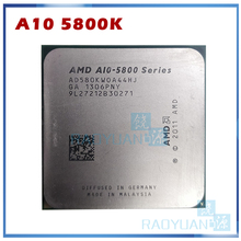 CPU Processor A10-5800 FM2 A10-Series AMD Quad-Core Ad580kwoa44hj-Socket