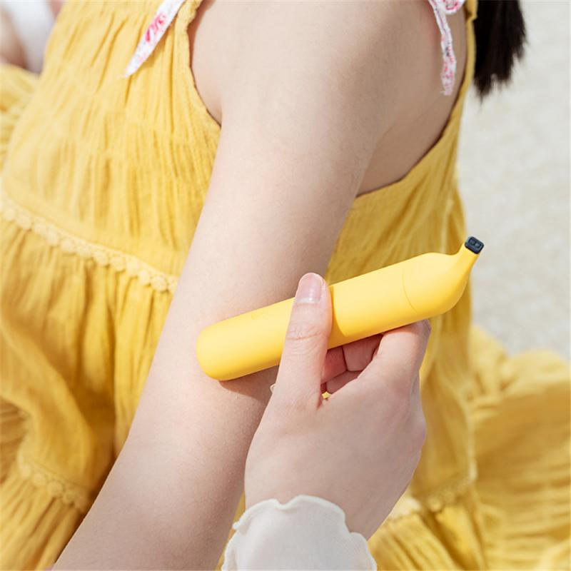 1pc Children's Yellow Cartoon Banana Anti-itch Stick Physical Fast Safe Anti-itching Mosquito Bites Stick For Baby Health Care