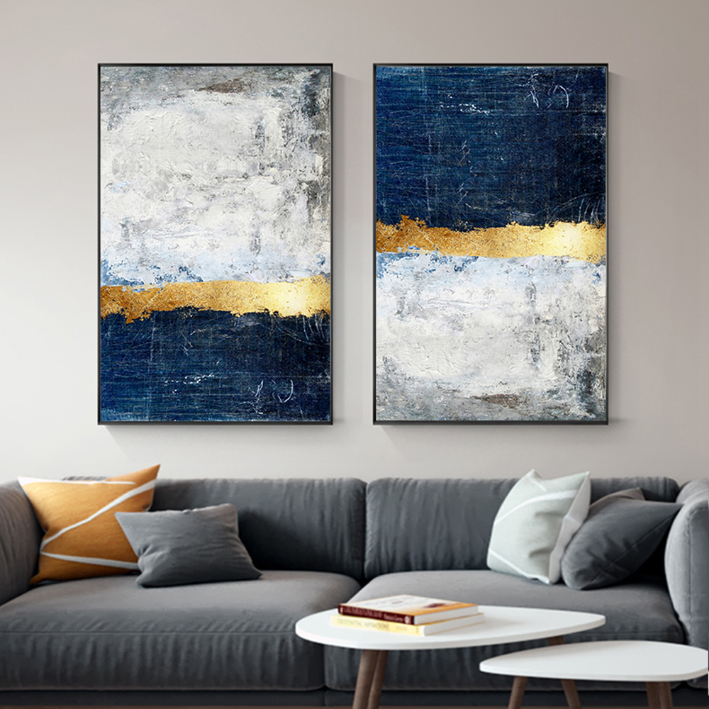 hand made 100% oil painting on canvas modern  Best Art Abstract oil painting Golden years XD1-309