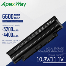 4400 мАч аккумулятор для ноутбука DELL Inspiron 13R 14R N4010 N3010 N4050 N4110 N5010 N4120 N5020 N5030 N5040 N5050 N5110 N7010 N7110