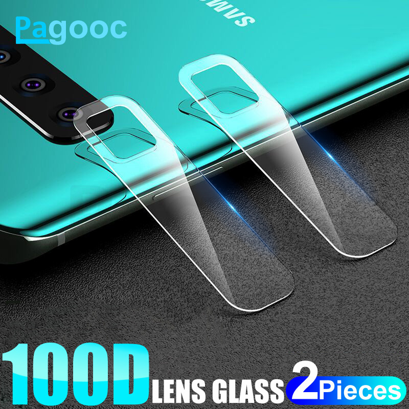 2Pcs Back Lens Tempered Glass On The For Samsung Galaxy Note 8 9 10 Pro S8 S9 S10 Plus S10E S10 Camera Screen Protective Film