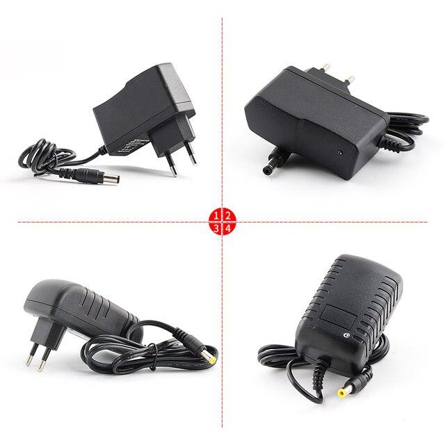 Sterownik LED 5V 9V 12V 24V zasilacz, 1A 2A 3A 220V do 12V 5V 9V 24V Adapter do zasilacza, ładowarka Swiching transformator oświetleniowy