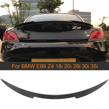 Carbon Fiber Rear Trunk Spoiler Wing for BMW Z4 E89 18i 20i 28i 30i 35i 2009 - 2015 Car Rear Trunk Boot Lip Wing Spoiler FRP image