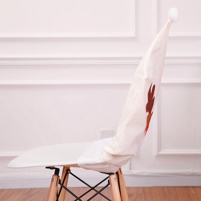 Купить рождественский чехол для стула чехол с вышивкой лося «рождество» картинки цена