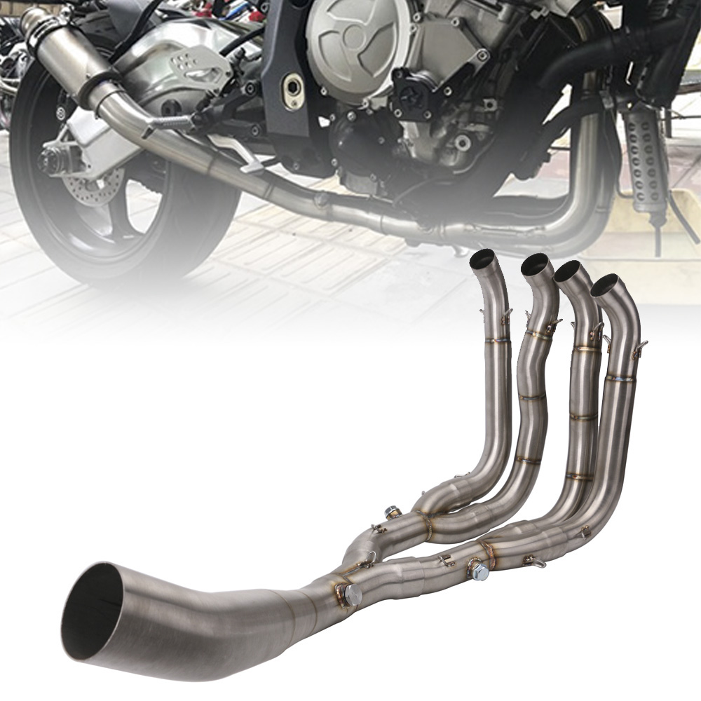 Motorcycle Exhaust full System Exhaust Header Link Stainless Steel Pipe Silp on for <font><b>BMW</b></font> S1000RR 2010-<font><b>2018</b></font> <font><b>S1000R</b></font> 2010 -<font><b>2018</b></font> image