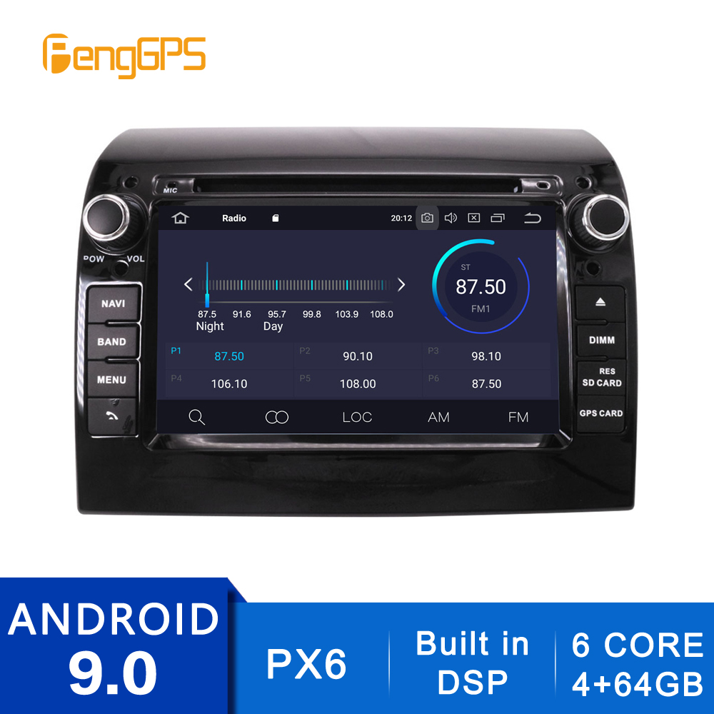 2 Din Android 10.0/9.0 Car Radio For Fiat Ducato/Citroen Jumper/Peugeot Boxer 2006-2015 GPS Navigation CD DVD Player Stereo Unit