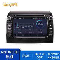2 Din Android 10.0/9.0 Car Radio for Fiat Ducato/Citroen Jumper/Peugeot Boxer 2006 2015 GPS Navigation CD DVD Player Stereo Unit