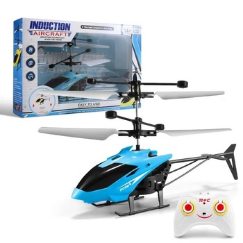 2CH Remote Control Sensor Control Hovering Helicopter 1