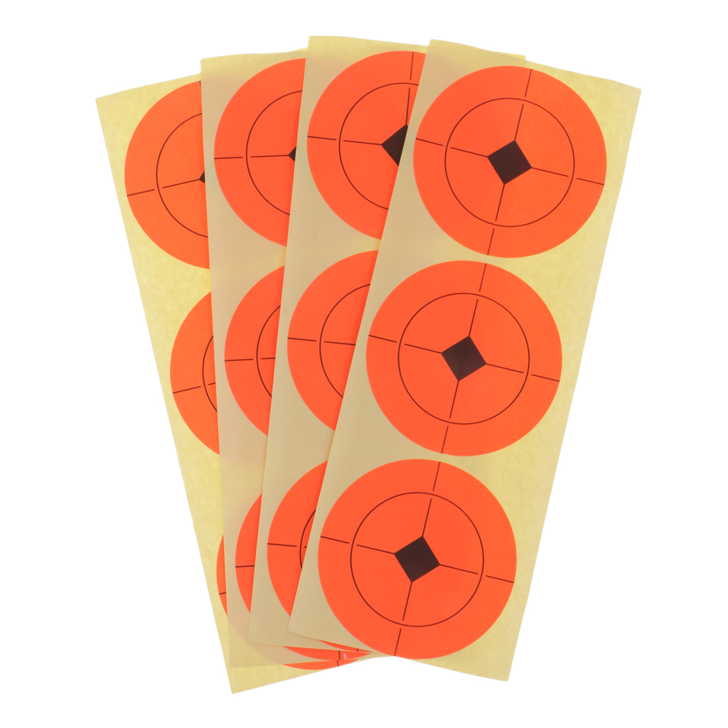 40 Sheet/120pcs 3'' Self-adhesive Paper Targets Stickers For Shooting Hunting Exercise
