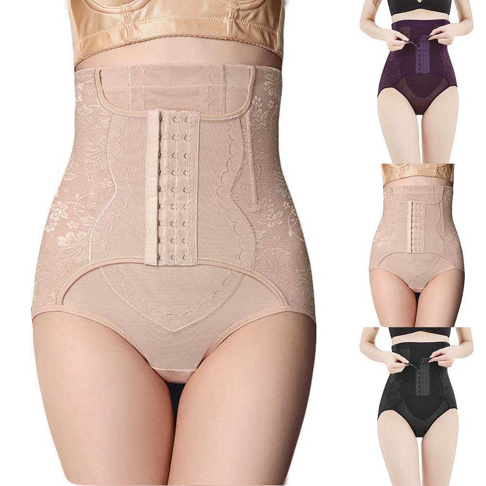 Women/'s High Waist Shape Body Shaper Corset Control Slim Tummy Underwear Panties