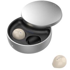 TWS Bluetooth 5,0 наушники беспроводные наушники с шумоподавлением мини невидимая гарнитура с HD микрофоном зарядный чехол