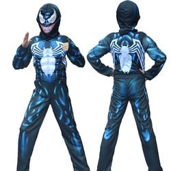 Halloween New Arrival Child Venom Spider Muscle Costume man Spider Boys Superhero Cosplay Fantasia Fancy Dress up