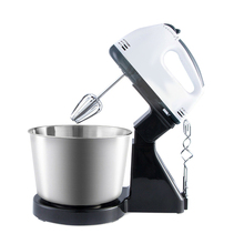 Multi-use Mixer Electric Food Egg Hand Mixer Cake Dough Stand Blender Bowl Beater 7 Speed Mixing Kitchen Egg Tools E2S