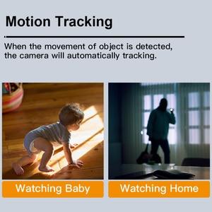 Image 2 - KERUI Mini Size WiFi IP Camera HD1080P Tuya App Indoor Camera Home Security WIFI Surveillance Night Vision Motion Alarm System