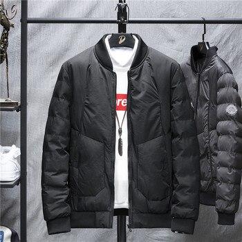 New Jacket Men Jackets Parka Men Quality Autumn Winter Warm Outwear Brand Slim Mens Coats Casual Windbreak Jackets Men Warm 2