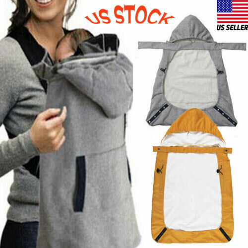 Imcute 2020 Newborn Baby Winter Cover Brand Baby Warm Cover Windproof Cloak Blanket Baby Carrier Funtional Gray Yellow
