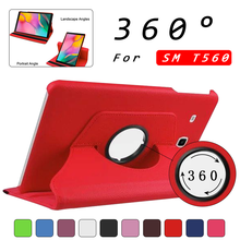 "360 RotatingCover для samsung Galaxy Tab E 9,"" SM T560 T561 кожаный чехол для планшета с подставкой для samsung Galaxy Tab E Чехол+ пленка"