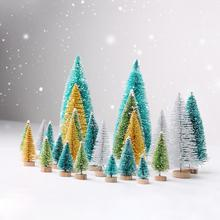 PATIMATE Wooden Christmas Tree Table Decor Merry Decorations For Home 2019 Navidad Natal New Year 2020