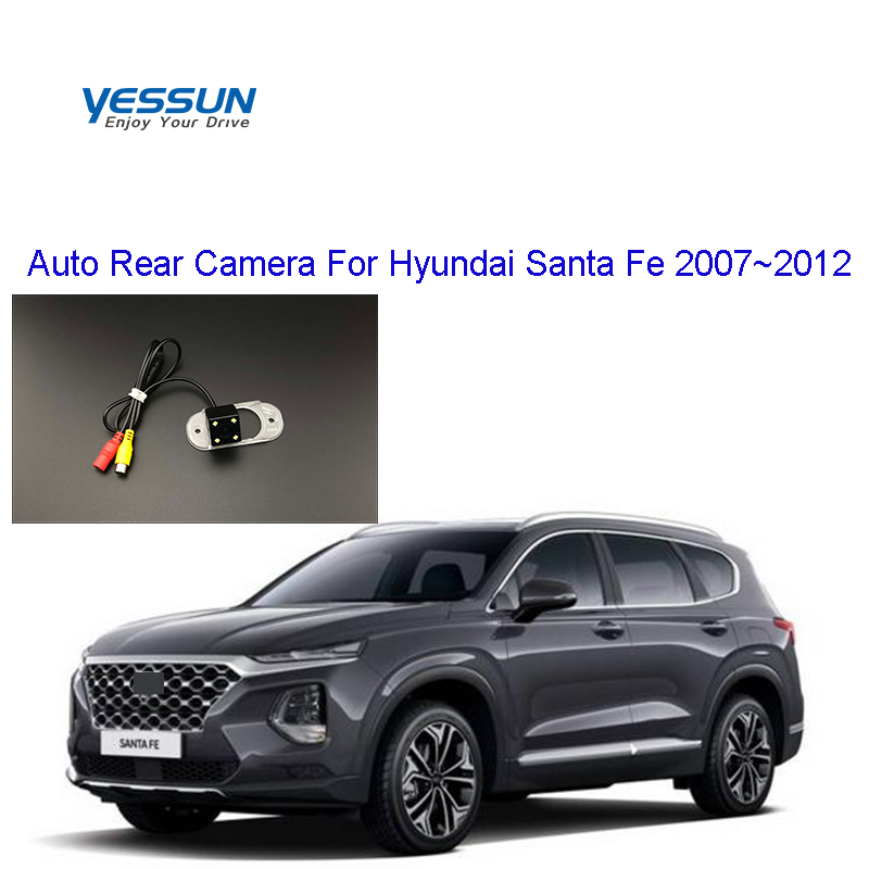 Yessun Car Rear View Camera HD Night Vision Reverse Camera IP67 DC 12V For Hyundai Santa Fe 2007~2012 For Santa Fe 2009