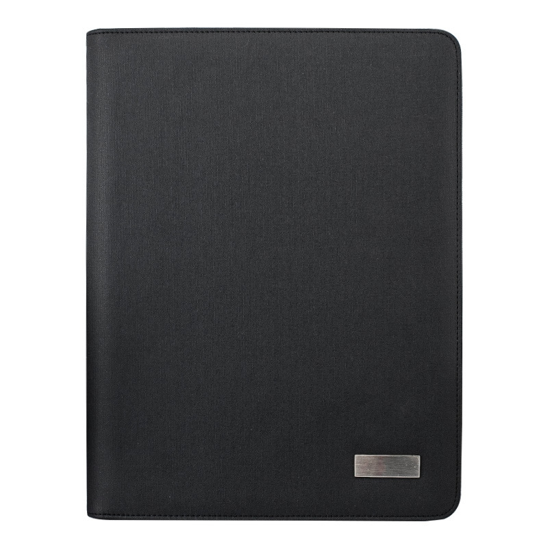 A4 Size Travel Notebook Composition Book Business Manager Bag File Folder With Wireless Power Charger Mobile Bag Holder