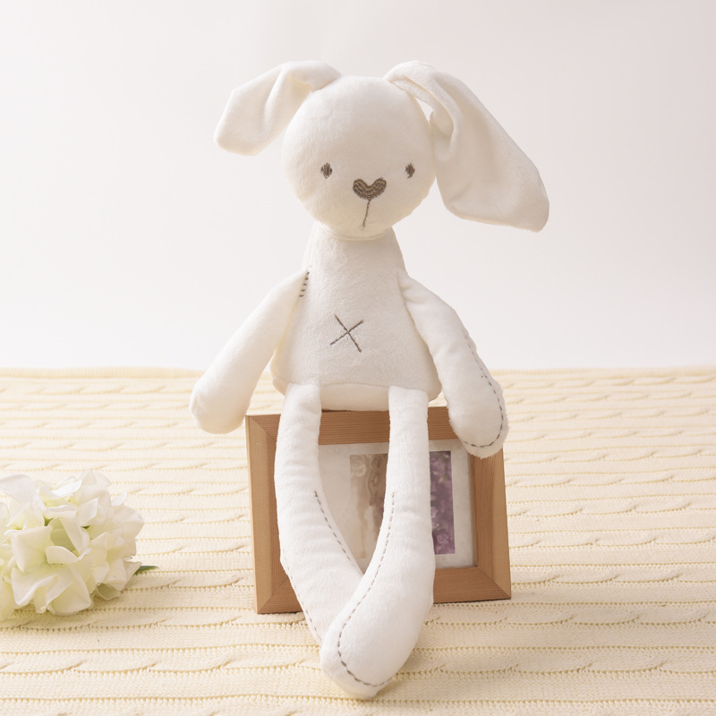 Cute Rabbit Doll Newborn Photography Props Baby Soft Plush Toys For Children Bunny Sleeping Mate Photoshoot Animal Baby Toys