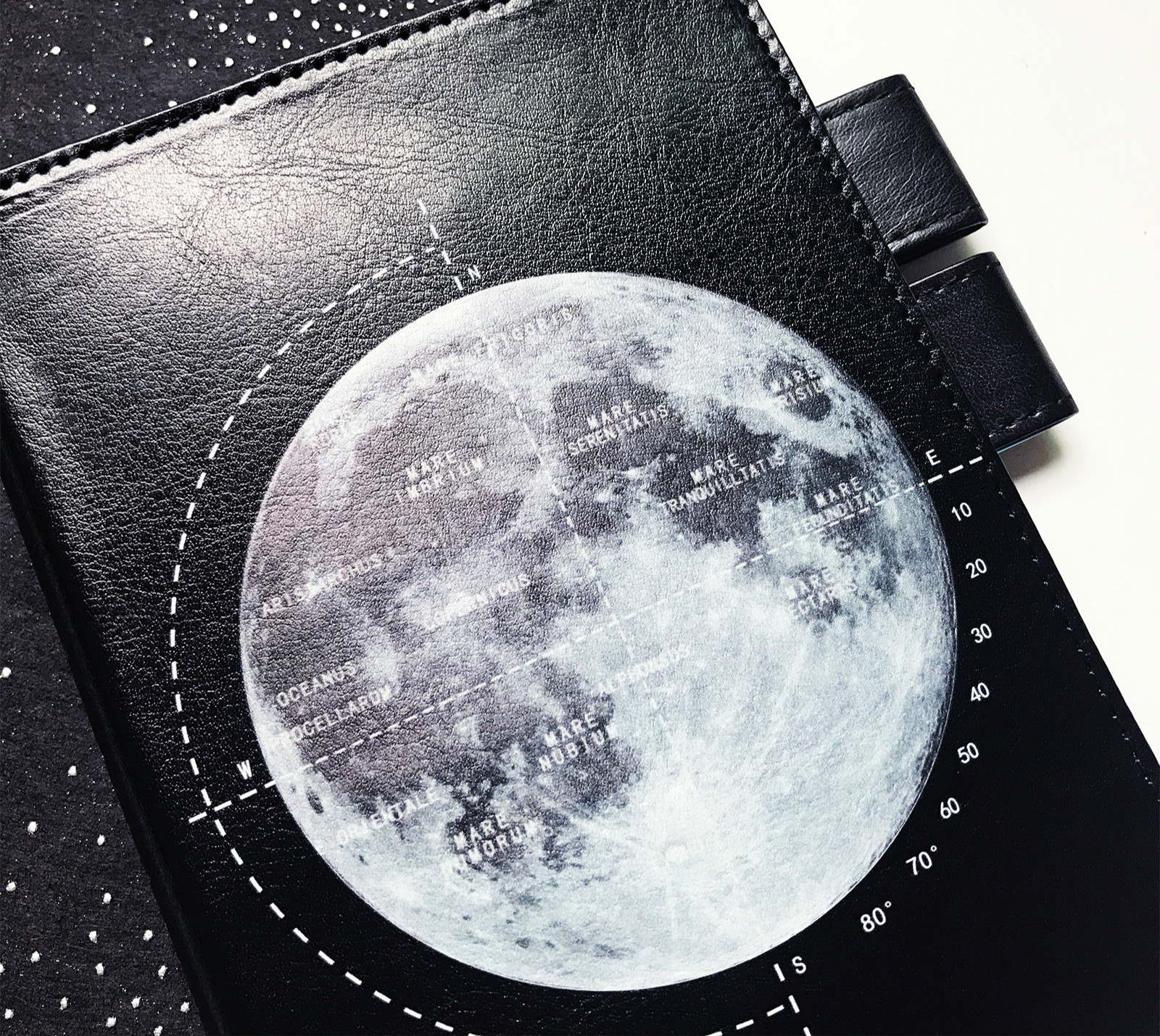 The Moon Journal Cover Suit For Standard A5 A6 Fitted Paper Book Free Shipping <font><b>2020</b></font> DIY <font><b>Planner</b></font> Supplies Gift image