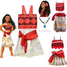 2020 summer moana dress for girls princess dresses kids party