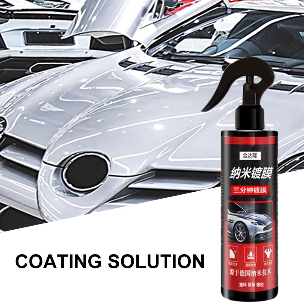 Spray Coating Car Polish Spray Sealant Top Coat Quick Nano-Coating 500ML Quick Coat Ceramic Waterless Wash Shine Protect