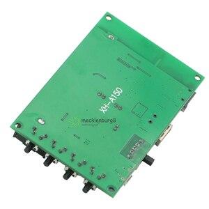 Image 3 - XH A150 بطارية ليثيوم بلوتوث الرقمية السلطة مكبر للصوت مجلس 5W + 5W الفم الطاقة DIY صغيرة قابلة للشحن المتكلم لالروبوت