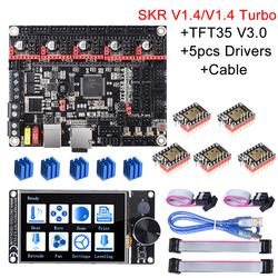 BIGTREETECH SKR V1.4 Junta de Control/SKR V1.4 Turbo 32Bit + TFT35 V3.0 + BLtouch + TMC2209 TMC2208 3D piezas de la impresora SKR V1.3 MKS GEN L