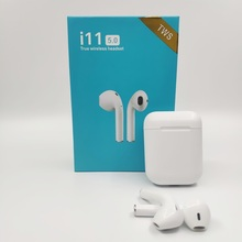 Original i11 tws in ear mini wireless bluetooth earphone Bass stereo Earbuds for